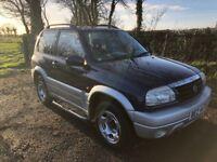 2005 Suzuki Grand Vitara 1.616V SE 3dr 1yrs Mot 6mth warranty