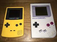 Old Gameboy Handhelds working or not!!