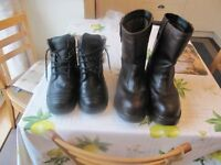 Hoggs of Fife Rigger Safety Boots and Goliath Safety Boots both Size 8 £15ono for both