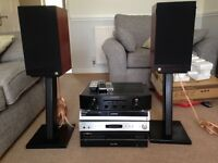 Marantz PM6003 Intergrated Amplifier, CD Player, Castle Speakers and DVD Player
