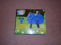 Kids 2 x Inflatable Buddy Bumper Ball Bounce Sumo Suits Fun Party Zorb Play Game