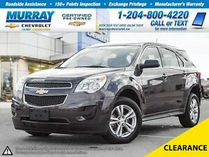 2013 Chevrolet Equinox FWD 4dr LS * 0.9% Financing, Bluetooth, T