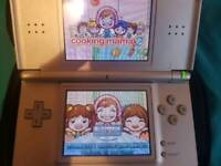 Nintendo ds lite, games incl mario
