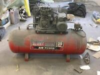 Sealey air compressor 150L