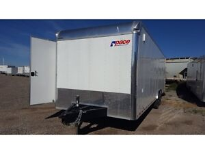 """2015 Pace American""""SPECIAL OFFER"""" 8.5x26 Pursuit Race Trailer 14"""