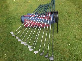 Ping Irons and Hogan Woods for sale