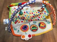 Fisher Price Baby Bandstand Musical Play gym