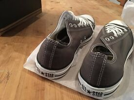 Converse Chuck Taylor All Star Lean UK Mens Size 11 Charcoal Grey