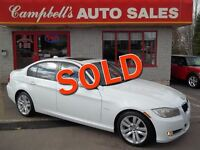 2011 BMW 323 I SUNROOF!! HEATED LEATHER!! CRUISE!! PW PL ALLOYS