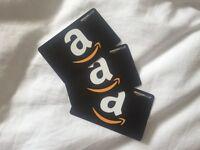 £60 Amazong gift vouchers (not needed)
