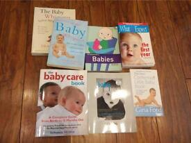 All you could want to know about babies - 7 books
