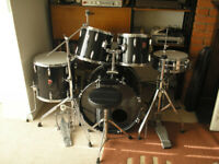 PREMIER Kit, mid-90s, complete with pedals,stands,hardware,stool,sticks etc