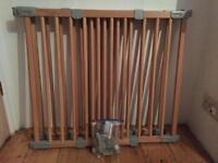 BabyDan flexi-fit wooden stair gate baby gates