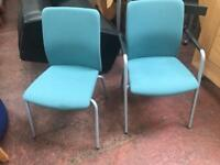 Green Conference Stackable Chairs