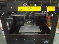 CTC DUAL EXTRUDER 3D PRINTER GOOD WRKING CONDITION