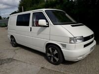 Vw Transporter T4 Camper 2001 2.5 Tdi 102 bhp rock n roll bed Smev units