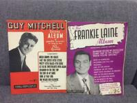 Collection of albums of sheet music from Guy Mitchell Frankie Laine Vintage retro SDHC
