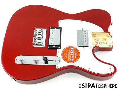 Fender Squier Contemporary HH Telecaster LOADED BODY Tele Dark Metallic Red