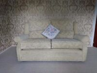 Cream printed Sofa for sale - collection only