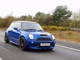 Mini Cooper S with John Cooper Works bodykit