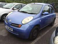 2003 NISSAN MICRA PETROL MANUAL GOOD DRIVE CHEAP CAR KEYLESS ENTRY NOT ALMERA PRIMERA YARIS KA
