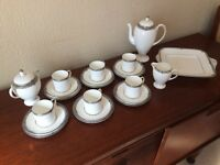 Wedgewood Amhurst Coffee set and plates etc.