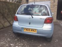 Toyota Yaris Blue - reluctant sale - OWNED FROM NEW - FSH - NEW MOT to 15/3/19