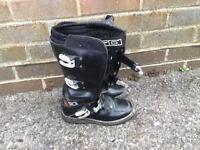 Sidi motocross boots uk4 euro 37