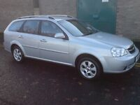 Chevrolet Lacetti 1.8 SX 58reg AUTOMATIC Estate only 47,000 miles