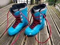 K2 T1 Snowboard Boots Size UK 9.5 BOA System for sale  Clifton, Bristol