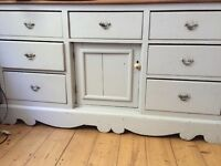 Beautiful vintage chest of drawers painted in Farrow and Ball...