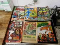 Marvel comics 1960s original prints hulk spiderman etc