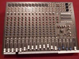 Mackie professional mixing desk