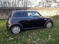 BMW MINI ONE 1.4 2009 Black 6 Speed Cheap Bargain (not spares or repairs) £2600