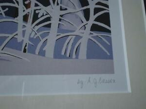 "A.J.Casson-""Snow Laden Spruce"" Limited Edition Print Kitchener / Waterloo Kitchener Area image 8"