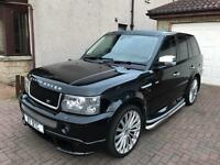 Range Rover Sport RRS facelift with bodykit