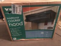 Traditional cooker hood. Wickes Moffat. Brand new in box