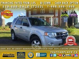 2008 Ford Escape XLT-$48/Wk-AWD-TowHitch-Leather-Roof-HtdSeats
