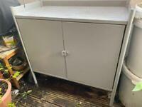 Ikea Hindö Grey Outdoor Cabinet