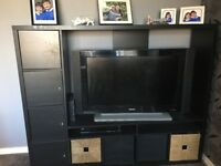 IKEA wall tv unit 1year old good condition .
