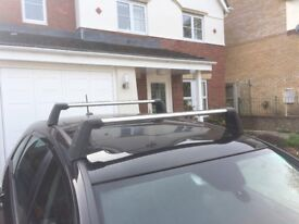 Genuine OEM Mercedes Roof rails bars, aluminium, lockable, fit A and B Class 2005 to 2011