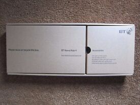 BT Home Hub 4 - Brand New Unused Boxed