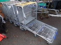 Heavy duty trolleys