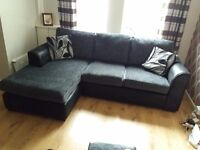 Corner sofa for sale. Very good condition only have 1 year