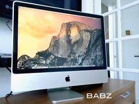 Apple iMac 24 Inch - Intel 2.8Ghz - 500GB HD - 3GB Ram - Logic Pro X - Final Cut X - Adobe CS6