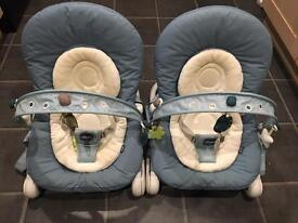 Chicco Hoopla baby bouncers