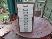 Bisley 10 draw filling cabinet clean just got marker on the front £40