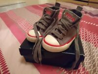 Polo Ralph Lauren High Top Trainers Size Infant 4.5