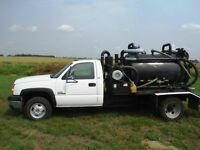 2006 Chev Silverado with Cusco vac tank