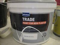 Paint for new plaster